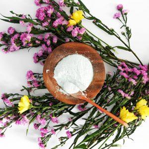 Lavender calming face mask