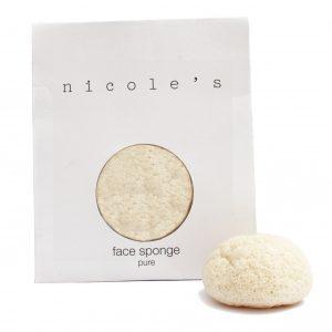 Face sponge ball pure